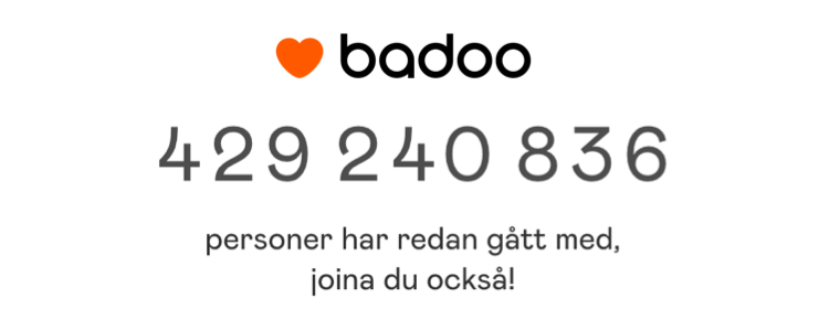 badoo medlemmar